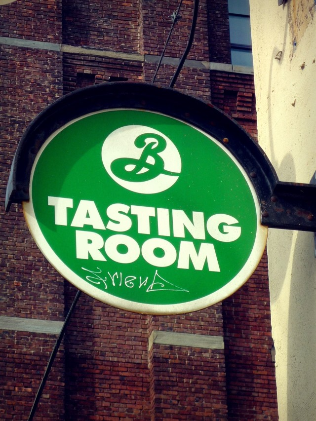Brooklyn brewery tasting room logo